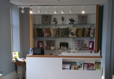 The Great Hall Shop fitted out